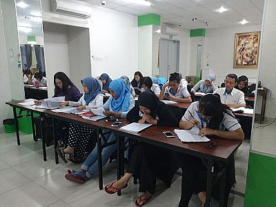 Corporate Training Program PT Geotech Ephatama- Sunter